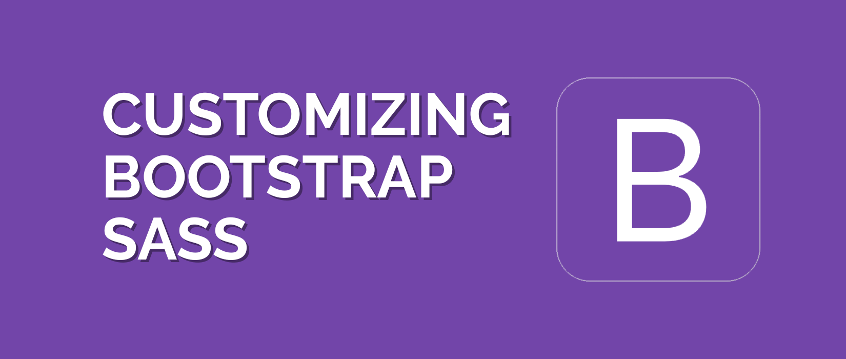 Bootstrap in SCSS